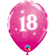 18 Sparkle Pink - 11 Inch Balloons 6pcs