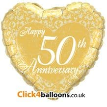 50th Anniversary Party Supplies