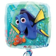 """Finding Dory Foil Balloon (18"""") 1pc"""
