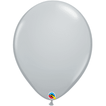 "Qualatex 16 inch Balloons - Grey 16"" Balloons (10pcs)"