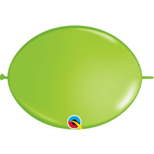 Qualatex Quick Link Balloons - 12 Inch Lime Green Quick Link Balloons (50pcs)