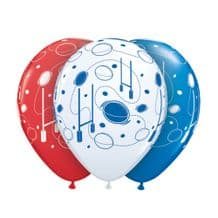 Rugby Balloons - 11 Inch Balloons 25pcs