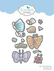 1347 Elizabeth Craft Designs - Bugs & Butterflies