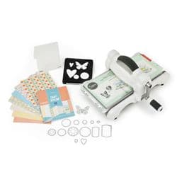 659765 Sizzix Big Shot Starter Kit (White & Gray)