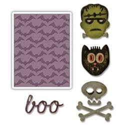 663072 - Sizzix Sidekick Side-Order Set - Halloween by Tim Holtz