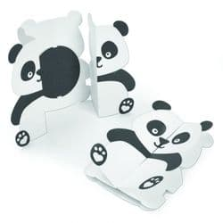 663574 - Sizzix Thinlits Die Set 14PK - Card, Panda Fold-a-Long by Jen Long