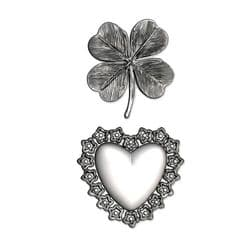 665227 - Sizzix 3-D Impresslits Embossing Folder - Lucky Love by Tim Holtz