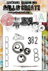 AALL and Create A6 Clear Stamp Set #3 By Fiona Partridge