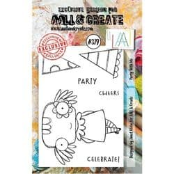 AALL and Create Clear A7 Stamp Set #379 - Party With Me by Janet Klein