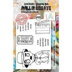 AALL and Create Clear A7 Stamp Set #428 - Charlie by Janet Klein