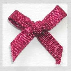 Burgandy Ribbon Bows - Pkt 50