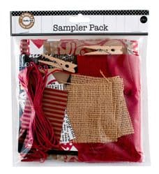 Canvas Corp - Sampler Pack - Red