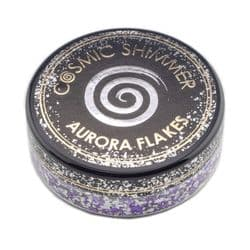 Cosmic Shimmer Aurora Flakes 50ml - Frosted Violet