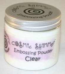 Cosmic Shimmer Clear Embossing Powder Large 200ml