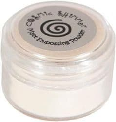 Cosmic Shimmer Matt Clear Embossing Powder