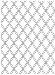 Couture Creations Embossing Folder - Tied Together