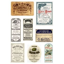 Creative Expressions - Andy Skinner - Rice Paper - Labels