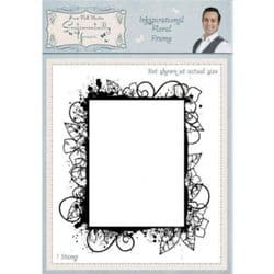Creative Expressions Inkspirational Floral Frame by Phill Martin
