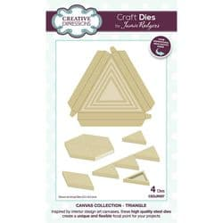 Creative Expressions - Jamie Rodgers Canvas Collection - Triangle