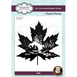 Creative Expressions - Paper Panda Rubber Stamp  - Fall