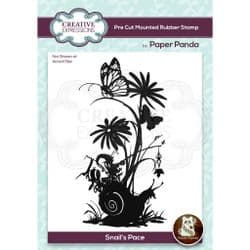 Creative Expressions - Paper Panda Rubber Stamp  - Snails Pace
