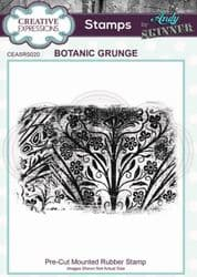 Creative Expressions - Rubber Stamp by Andy Skinner - Botanic Grunge