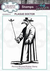 Creative Expressions - Rubber Stamp by Andy Skinner - Plague Doctor