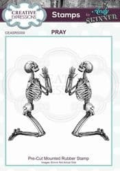 Creative Expressions - Rubber Stamp by Andy Skinner -  Pray