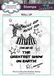 Creative Expressions - Rubber Stamp by Andy Skinner - Roll Up