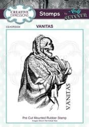 Creative Expressions - Rubber Stamp by Andy Skinner - Vanitas