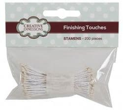 Creative Expressions Stamens pack of 200