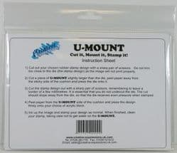 Creative Expressions U-Mount Repositional Mounting Cushion, A4 Sheet
