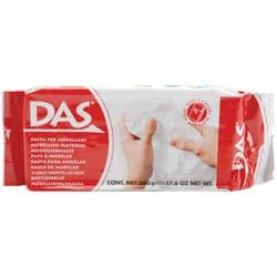 DAS Air-Dry Clay 17.6oz (500g) White
