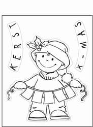 EC0101 Eline's Toddlers Clear Stamps - Christmas (Toddler X-MAS)