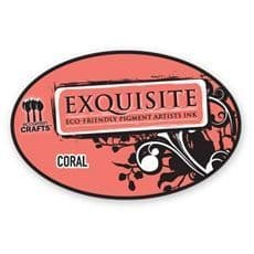 Eco-Friendly Pigment Ink Pad Coral