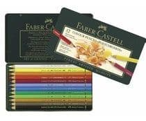 Faber Castell - Polychrome - Metal Box 12 Pieces