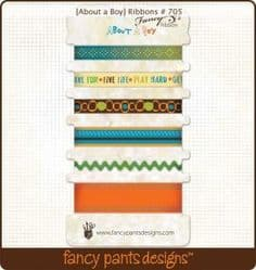 Fancy Pants - About A Boy Ribbons