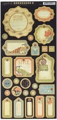 Graphic 45 Artisan Style Chipboard 1
