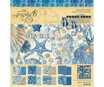 Graphic 45- Ocean Blue -12x12 Inch Collection Pack