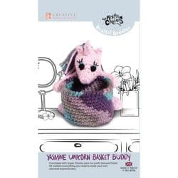 Knitty Critters - Basket Buddies - Yasmine Unicorn