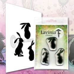 Lavinia - Clear Stamp - Wild Hares Set