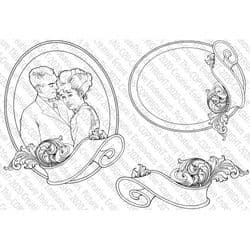 Picture This - A6 Stamp - Cute Cameo