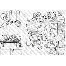 Picture This - A6 Stamp - Gift Boxes - 068