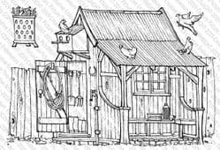 Picture This - A6 Stamp - Potting Shed 044
