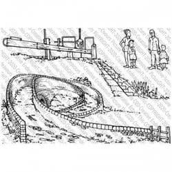 Picture This - A6 Stamp - The Jeannes Bridge