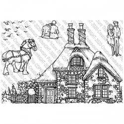Picture This - A6 Stamp - The Lock Keepers Cottage