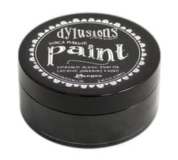 Ranger Dylusions Acrylic Paint - Black Marble