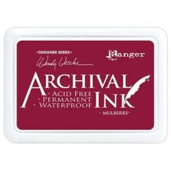 Ranger, Wendy Vecchi Archival Ink Pad - Mulberry