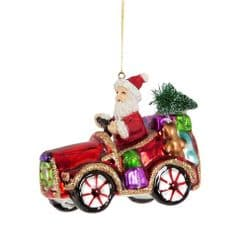 Sass & Belle - Sleigh No More Car Shaped Bauble
