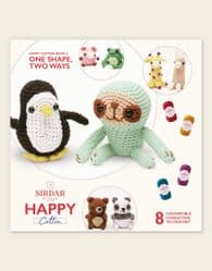 Sirdar - Happy Cotton Book 2 - One Shape, Two Ways